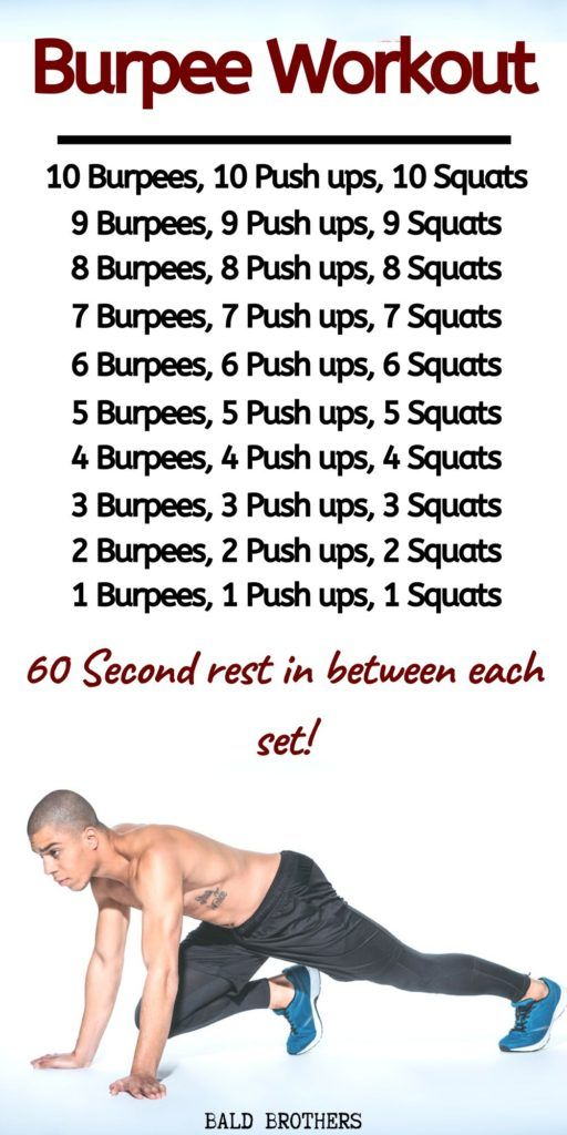 The Burpee Workout: The Ultimate Bodyweight Exercise To Get Fit