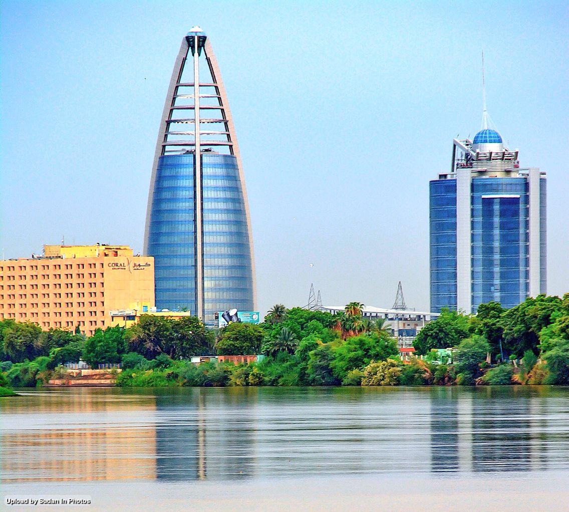 Towers  Nature, Khartoum أبراج و الطبيعة، الخرطوم السودان (By Ayman Hassan