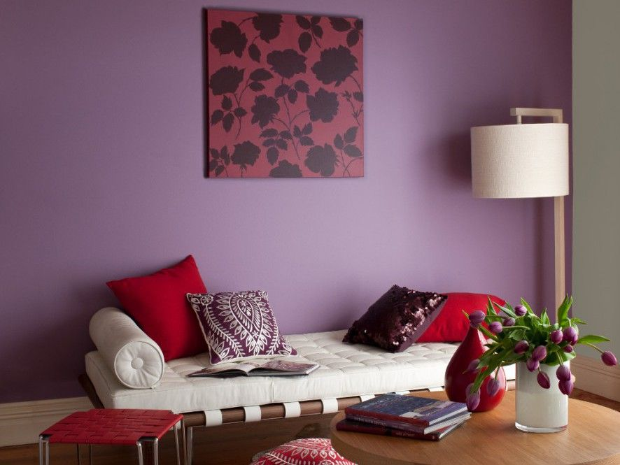 The paint name says it all self powered is the wall - What type of paint for living room walls ...