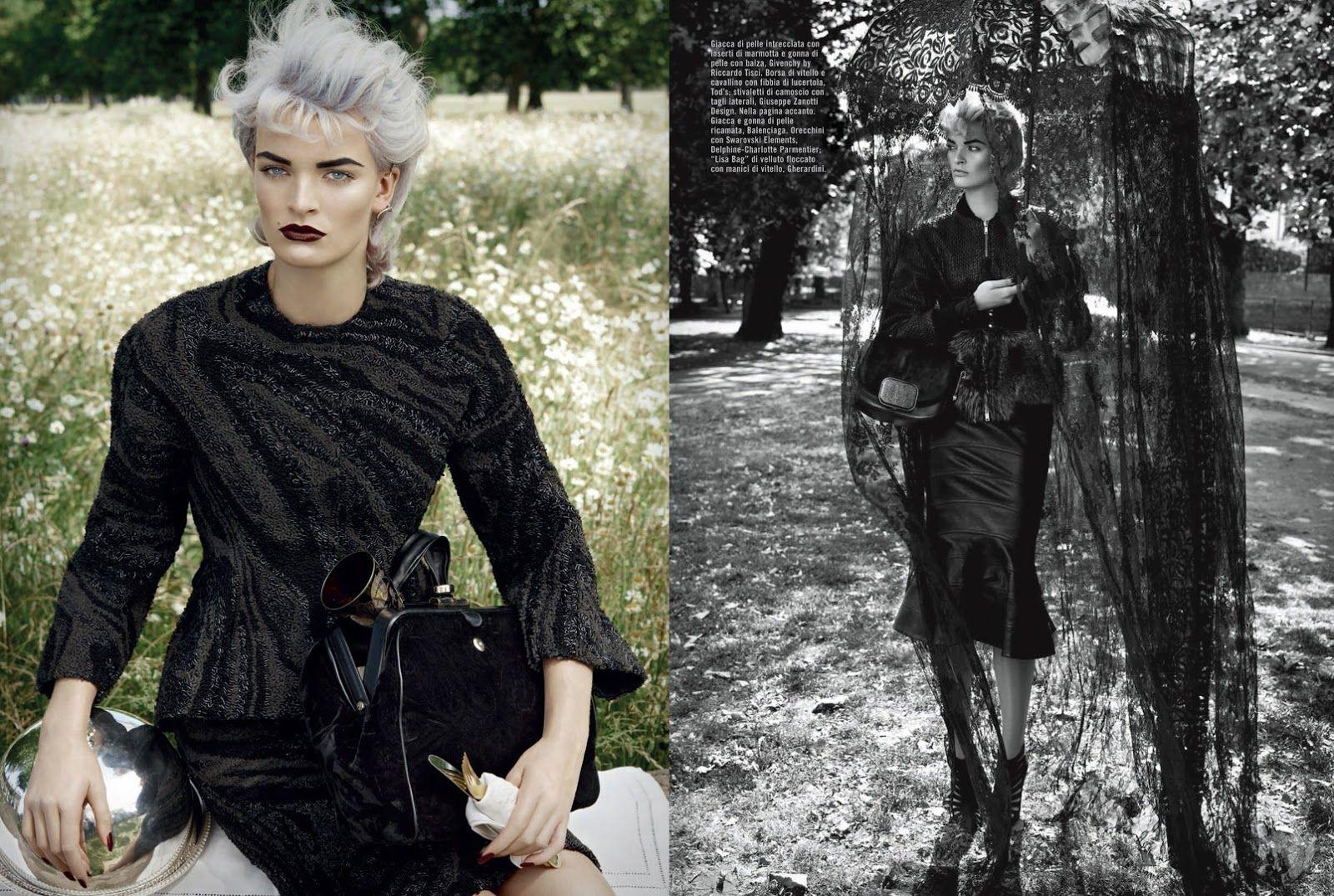 visual optimism; fashion editorials, shows, campaigns & more!: juliane gruner by david dunan for vogue italia september 2013