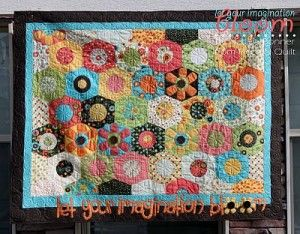 Hexagon Quilt Pattern Over 20 Free Patterns to Sew - | Hexagon ... : hexagon quilt pattern free - Adamdwight.com