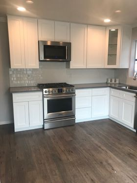 Niles, Fremont, CA Kitchen remodel with white shaker ...