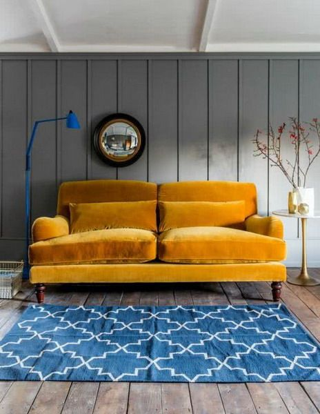 Touches of color interior trends 2021   Trending decor, Home decor trends, Vintage style sofas
