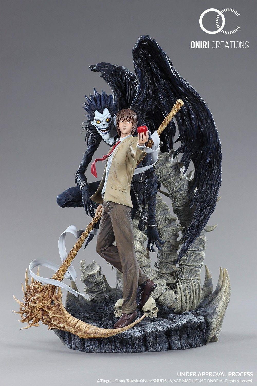 Poster A3 Death Note Ryuk Light Kira L Manga Anime Cartel Decor Impresion 04