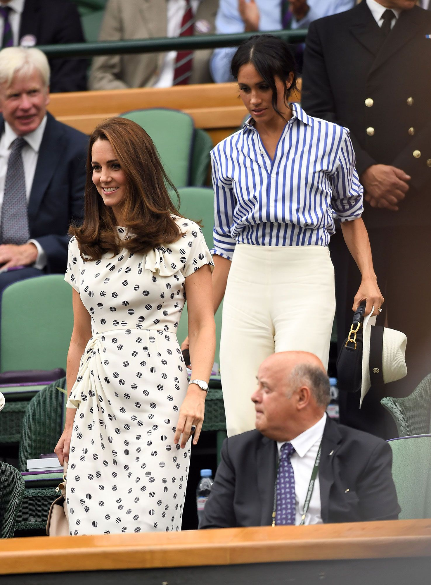 326b36c43860b Every Moment You Need to See from Meghan Markle and Kate Middleton s First  Joint Appearance