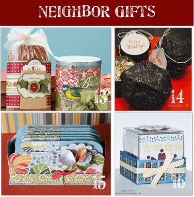 24 Homemade Christmas Gifts for Neighbors