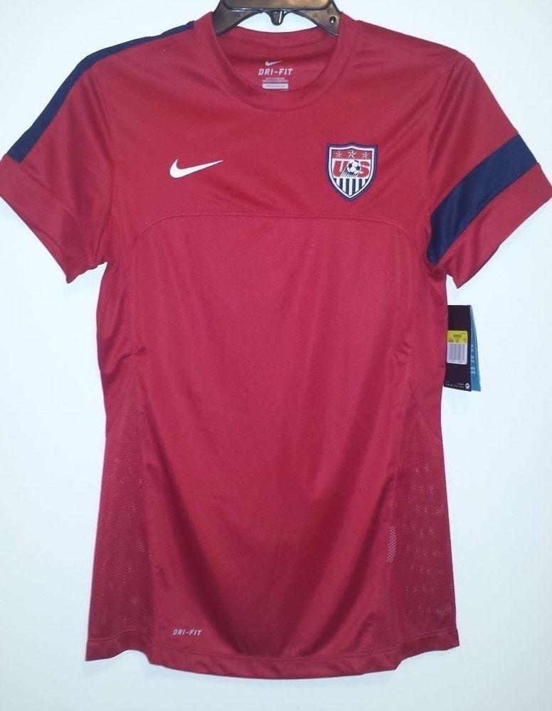 NEW Nike Dri-Fit USA National Team Soccer Jersey Womens S XL World Cup  528509  Nike  USA 53ad34ec4