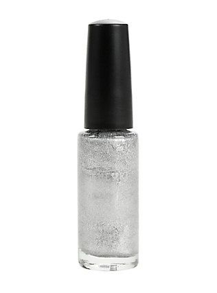 Blackheart Beauty Nail Art Silver Nail Polish,
