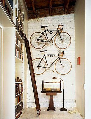 23+ Great Indoor Bike Storage Ideas   Wave Avenue   Bikes + Cars ...