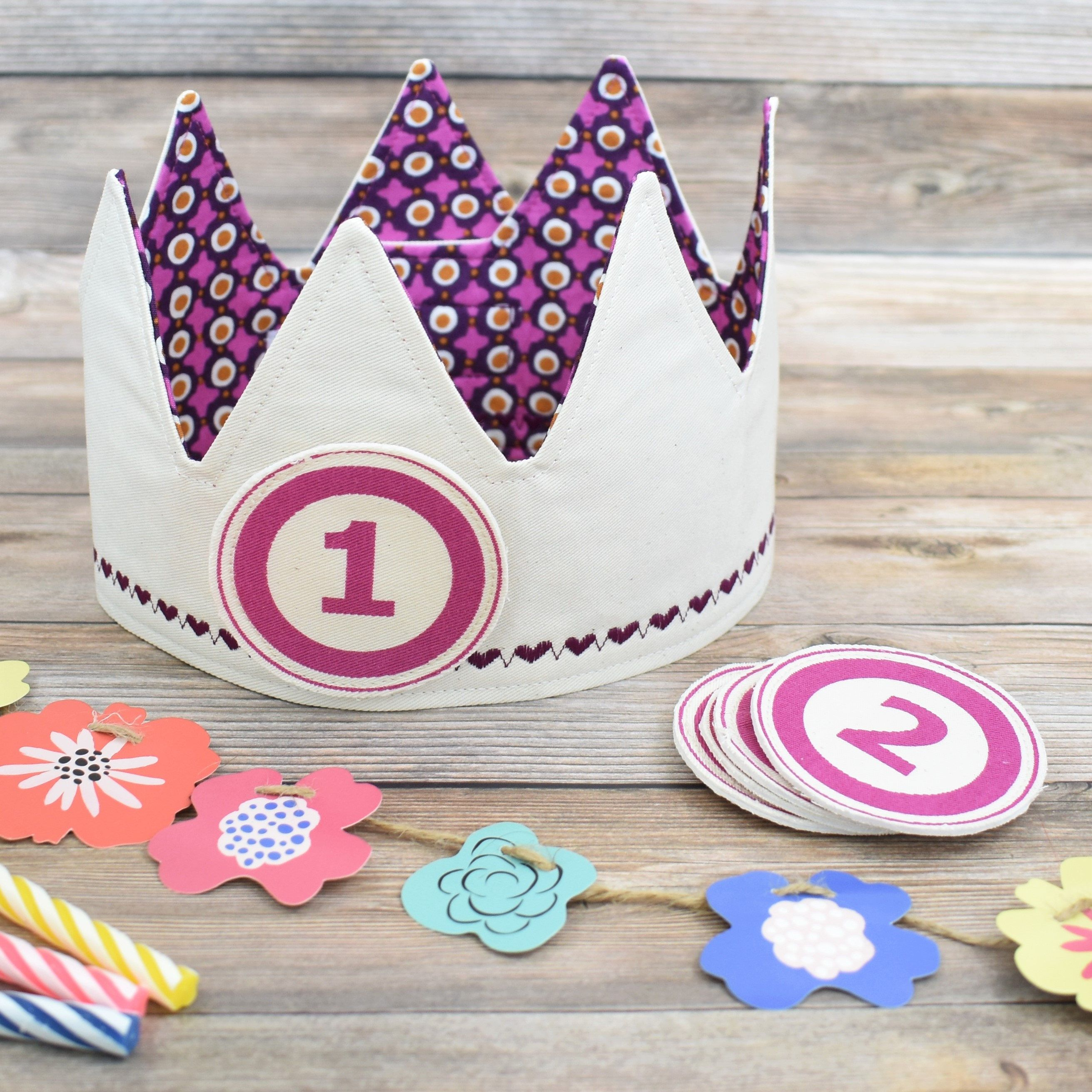 Birthday crown first birthday crown gift for a one year