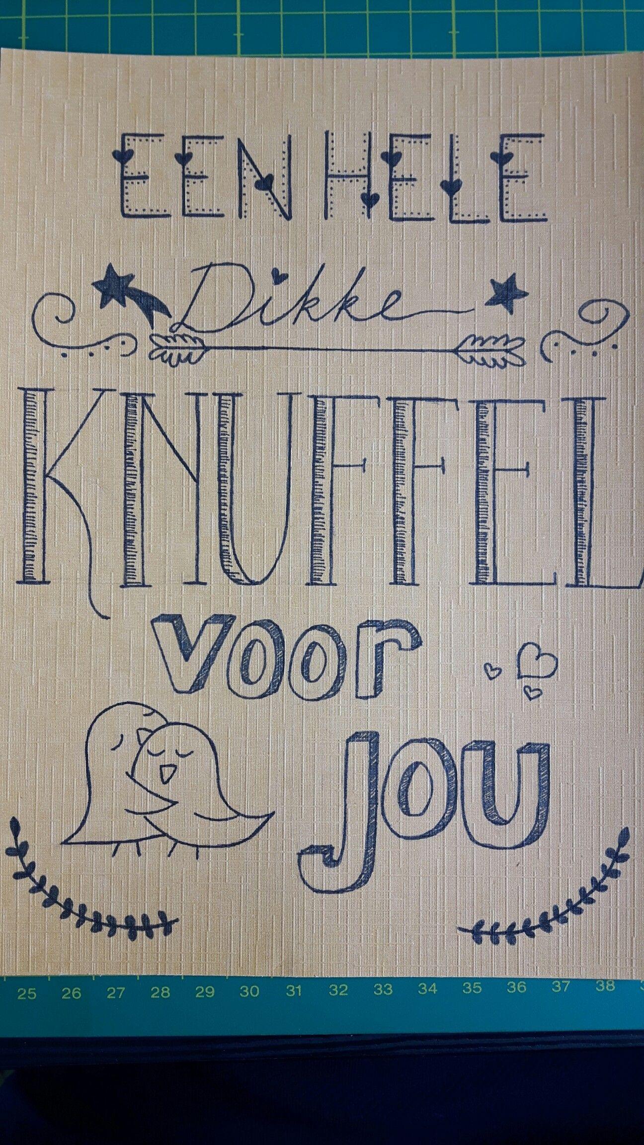 Een hele dikke knuffel voor jou! #knuffelvoorjou