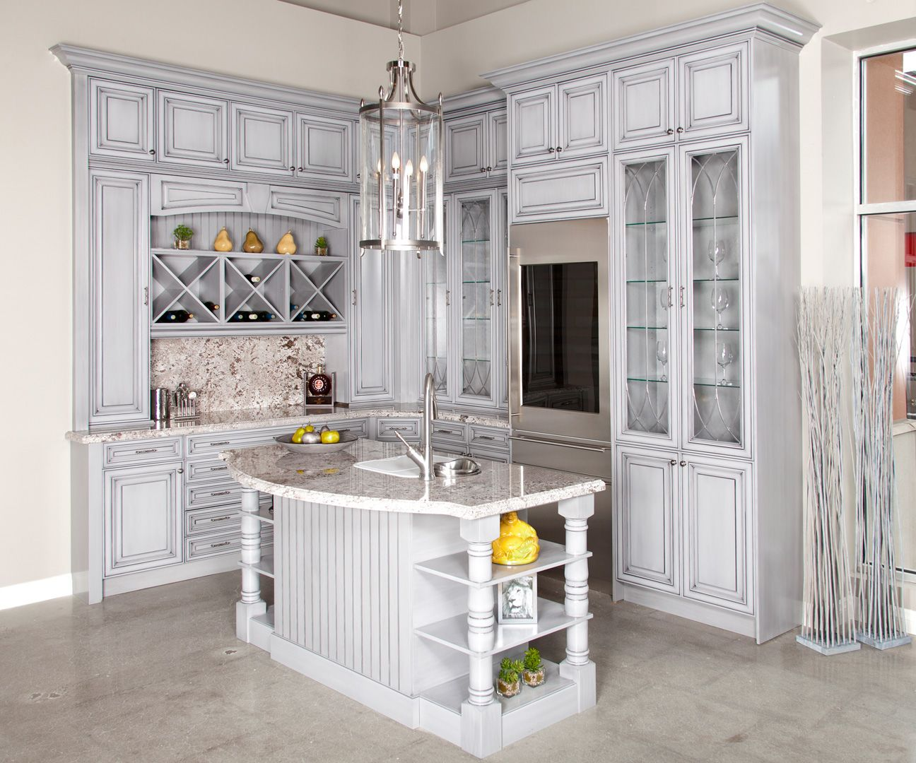 Raywal.....but with a different island | Kitchen Styles | Pinterest ...