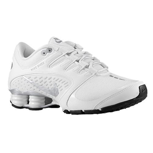 NEW Nike Shox Vaeda Women's Athletic Shoes White/Metallic Silver 678632-100  ...