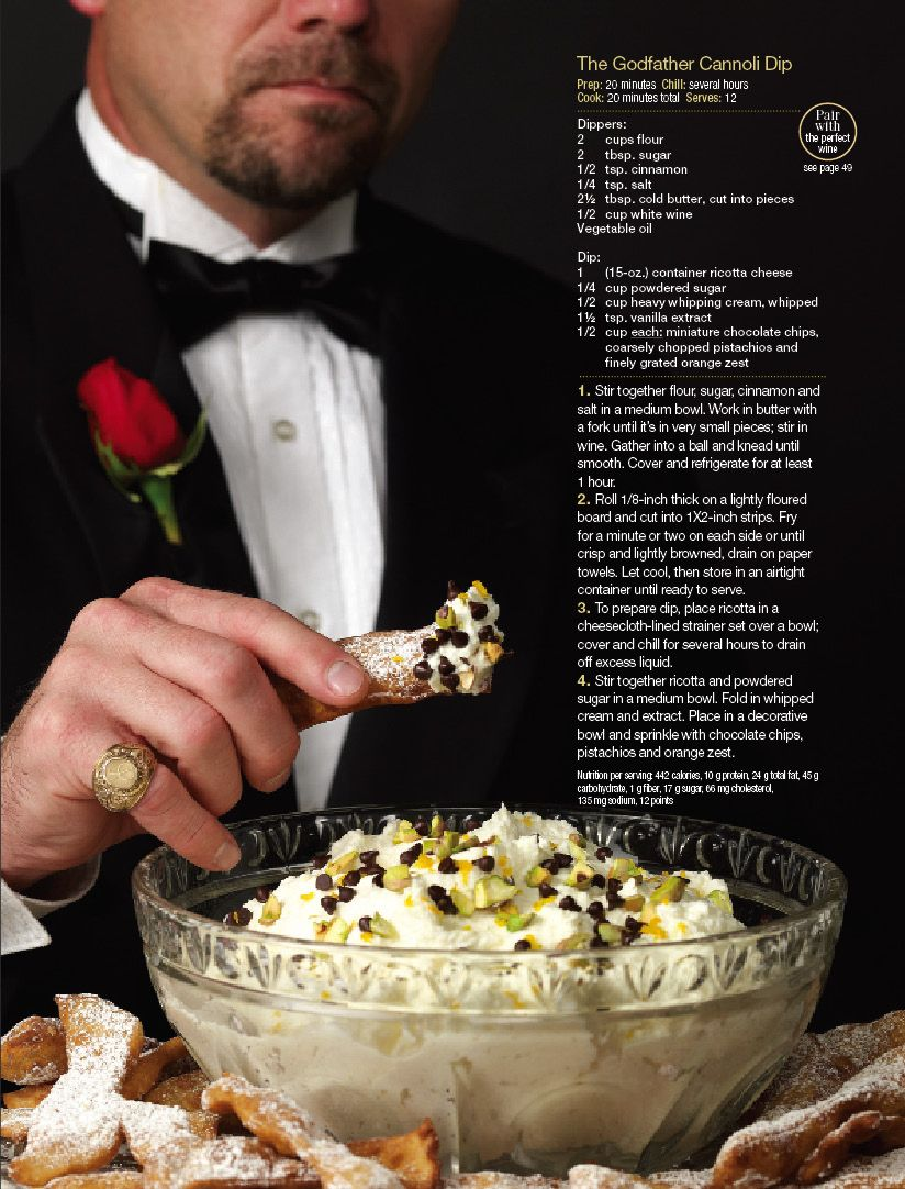 The Godfather Cannoli Dip - looks like a great desert!