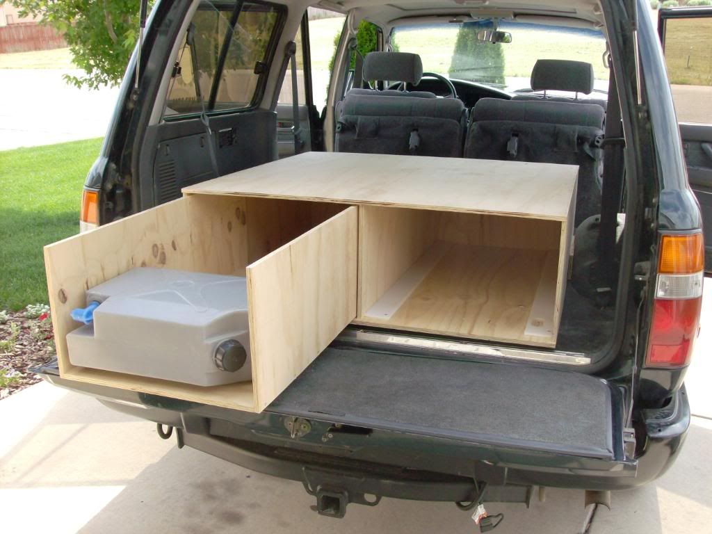 Wonderful Suv Bed Platform Part - 13: Drawer Sleeping Platform With Kitchen Box