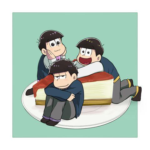 #おそ松さん 六つ子生誕祭 - くろさびのイラスト