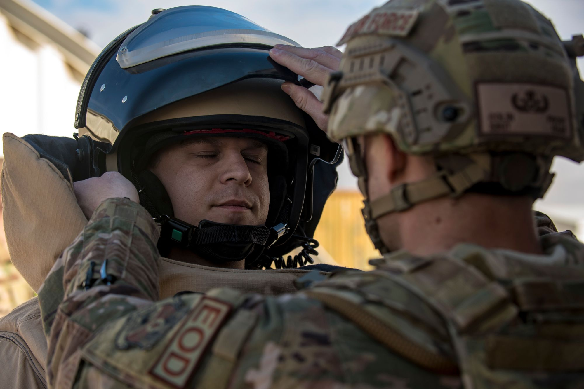 EOD are a priceless assests at home, abroad and in war