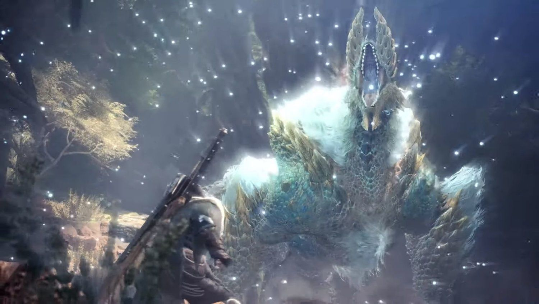 New Video For Monster Hunter World Iceborne Shows Off Zinogre And New Elder Dragon Namielle Check Out Monster Hunter World Monster Hunter Monster Hunter Games