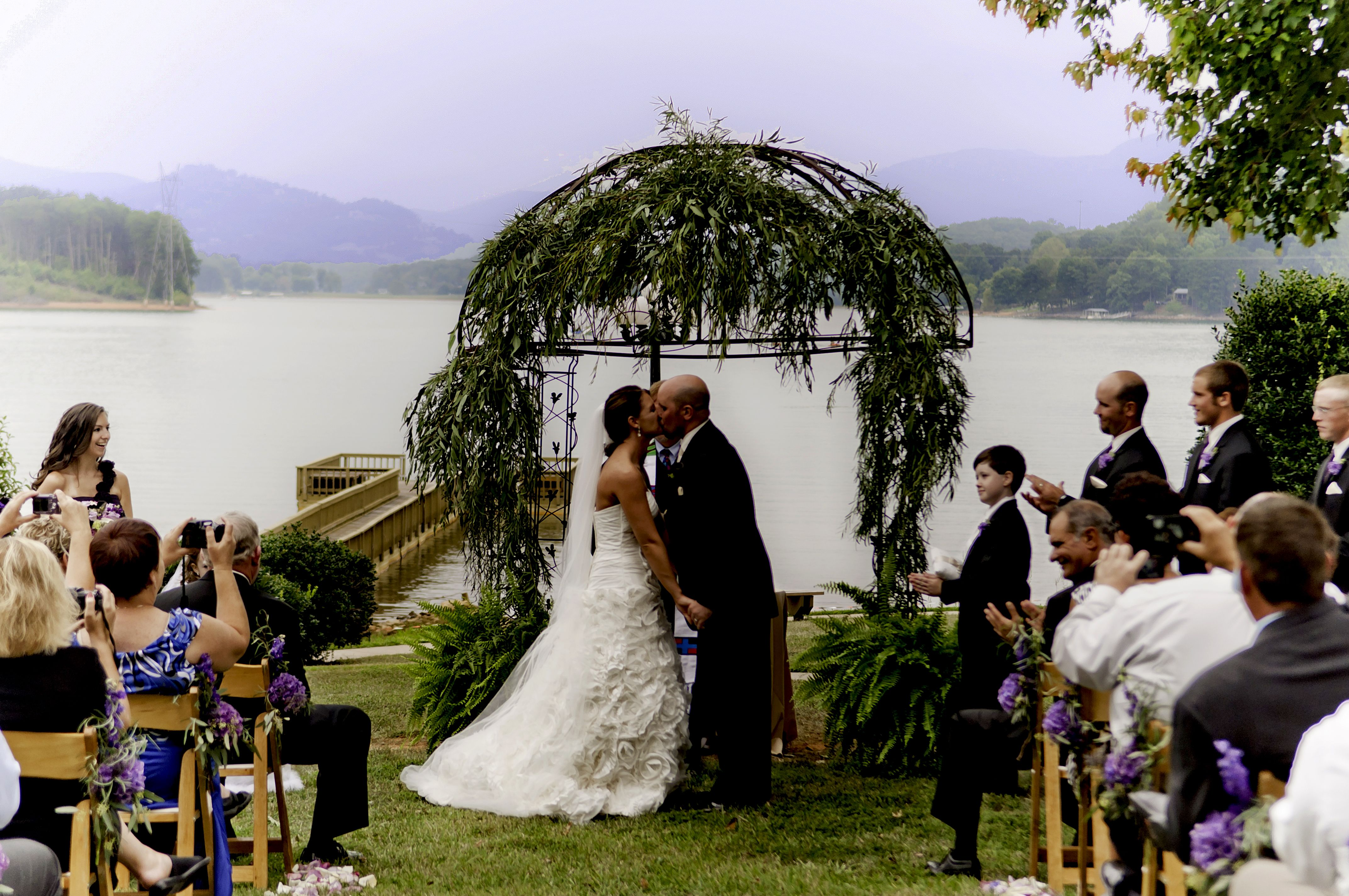Lake And Mountain Wedding Best Of Both Worlds The Ridges