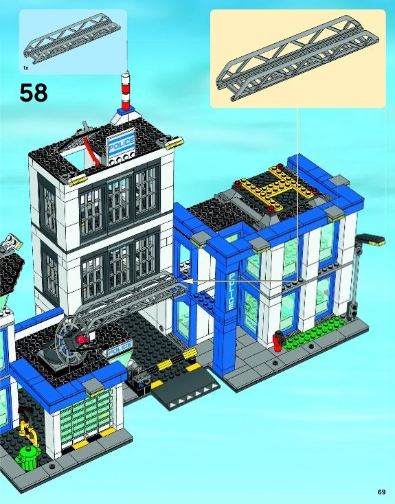 City Police Station Lego 60047 Thank God We Can Find The