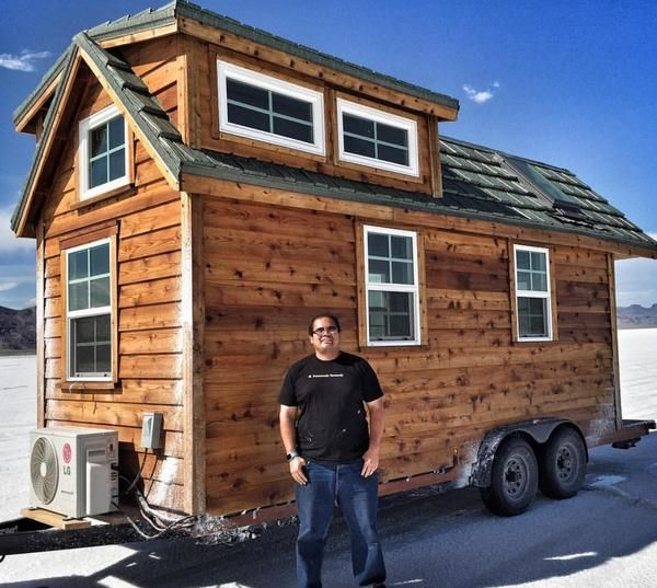 Mario & Ciarra's Super Techy Tiny House RV