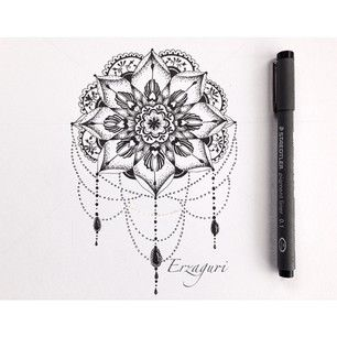 tiny mandala tattoo - Google Search