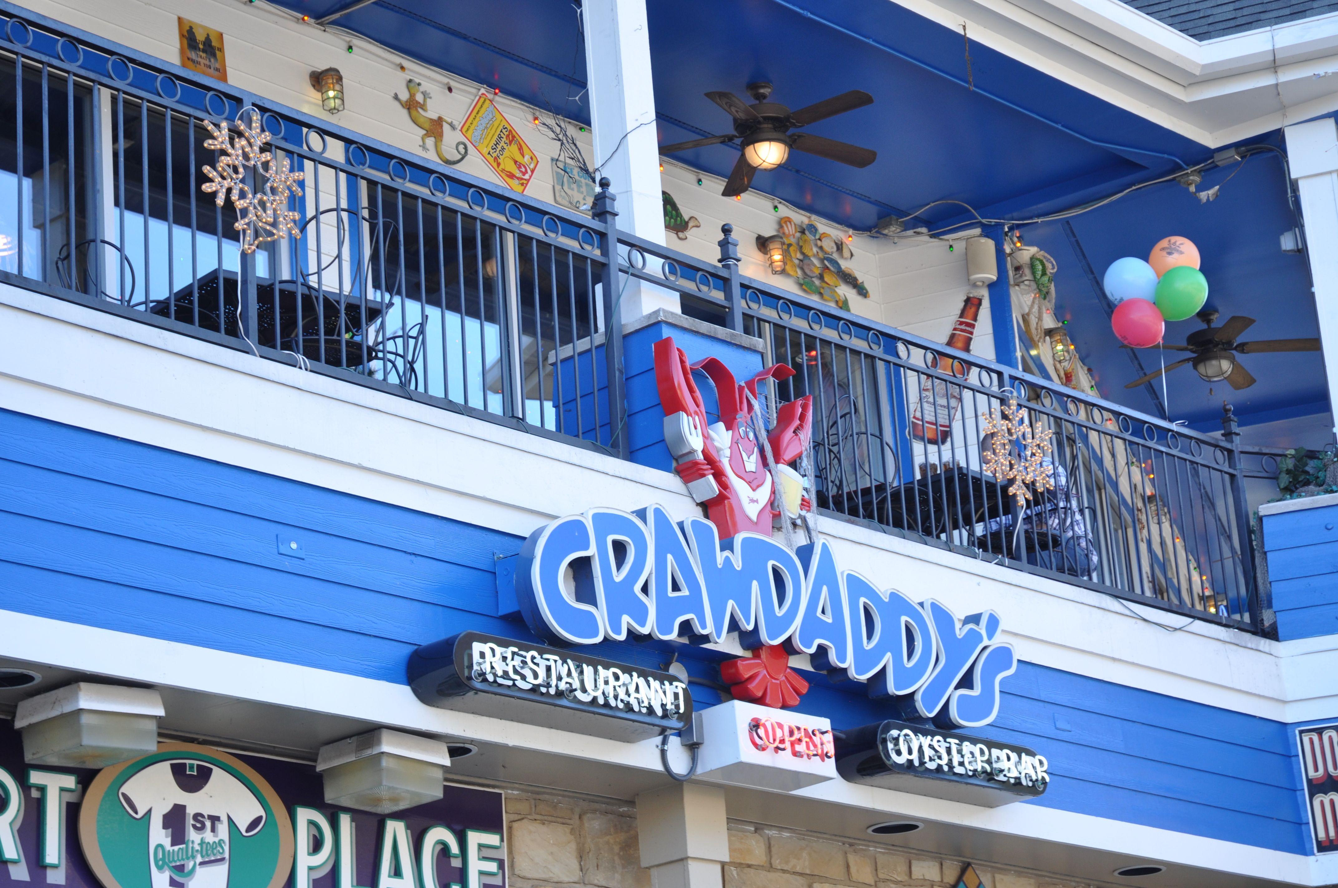 Crawdaddyu0027s Restaurant U0026 Oyster Bar In Gatlinburg, Tennessee.