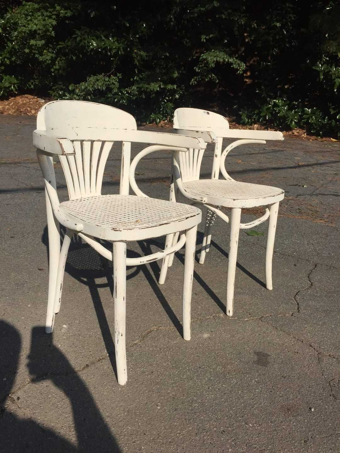 Pair Of Cane Chairs Atlanta Used Furniture Living Room Chair