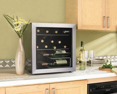 Danby Counter Top Wine Cooler Walmart Ca With Images Wine Cooler Countertops Best Wine Refrigerator