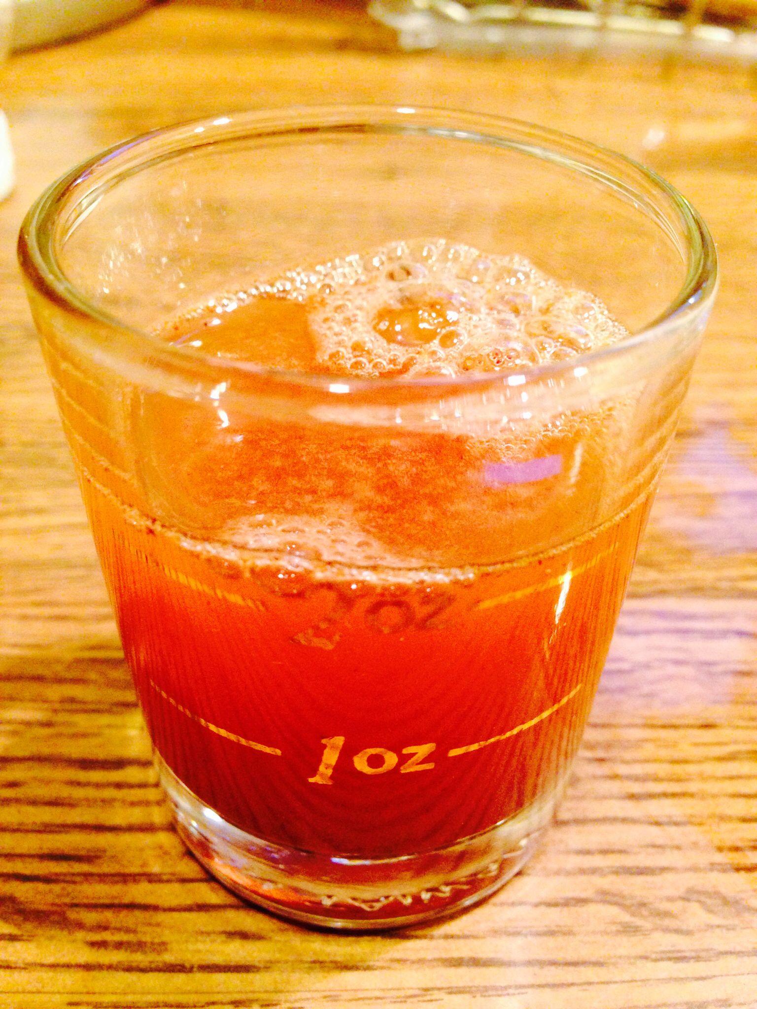 Daily Shot: 1 Tbsp Apple Cider Vinegar, 2 Tbsp Water (or pineapple juice?), 1  Tbsp Honey, few shakes Cinnamon to taste.