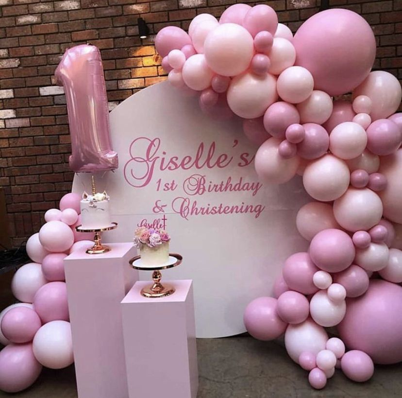 NEW LARGE BABY TWINS BALLOONS HELIUM FOIL BIRTH SHOWER CHRISTENING 1ST BIRTHDAY