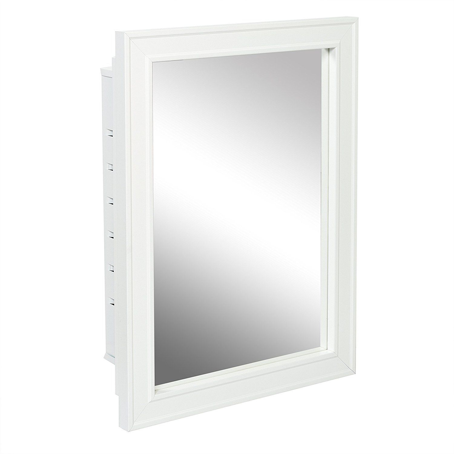 Amazon.com: American Pride G9610R1W - Recessed White Wood Framed ...