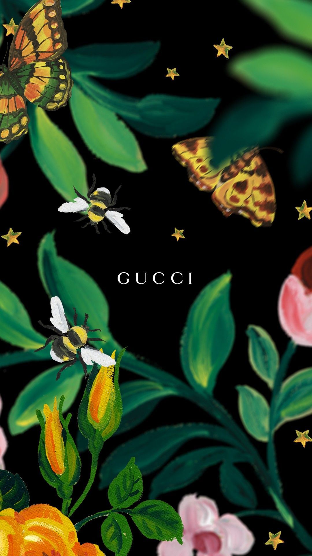 Gucci Wallpapers for iPhone Mobile Ретро рисунки
