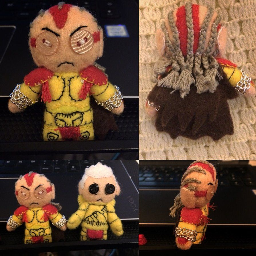 Warhammer - Primarch Angron Plush by Jack-O-AllTrades