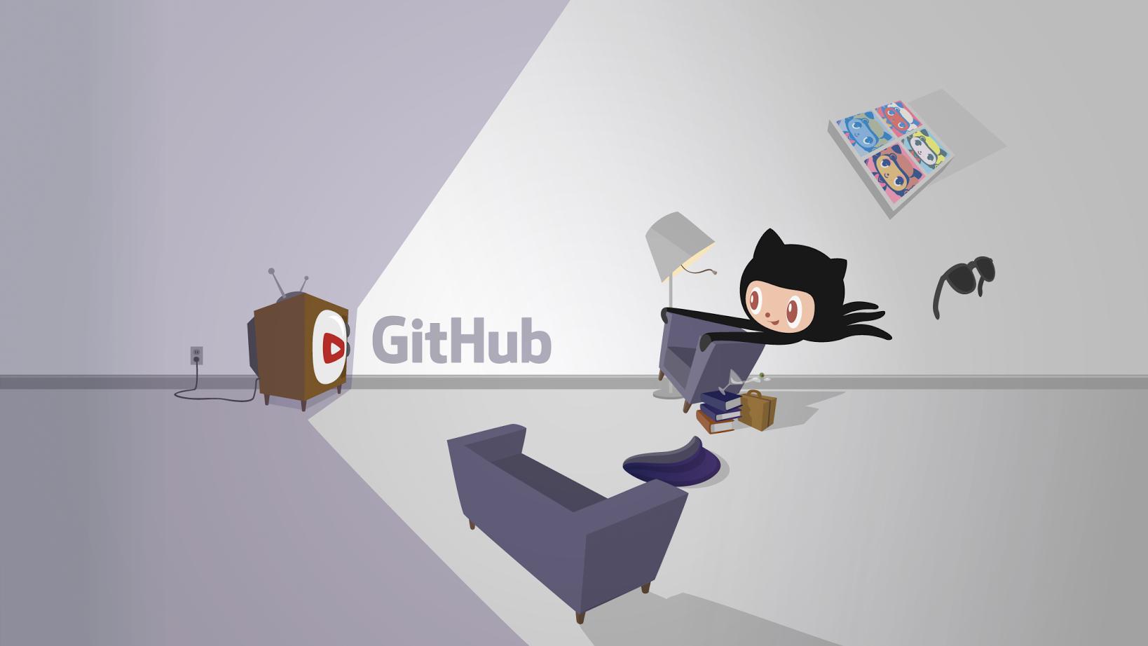 GitHub Octocat classic art | Miscellaneous | Home decor