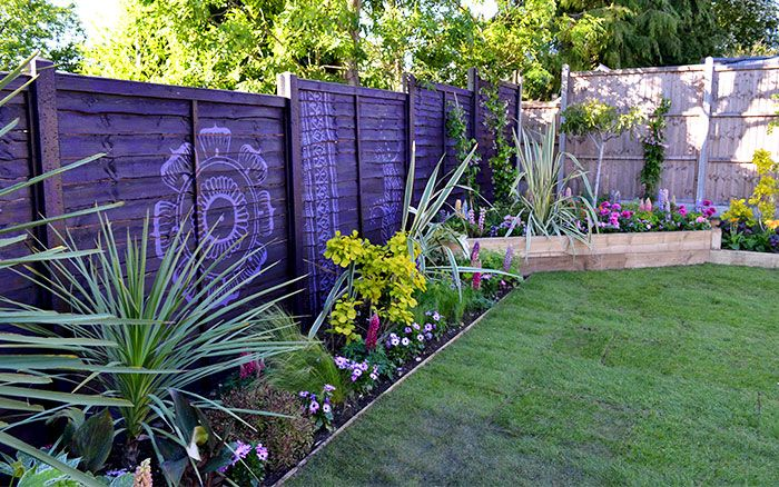 Love Your Garden episode 5 Before and after garden photos is part of garden Borders Purple - See the photos from before and after the garden makeover on ITV1 Love Your Garden  The team created a stunning transformation  check out the gallery here