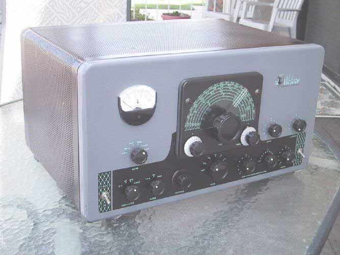 Pin on Boat Anchor radio gear.