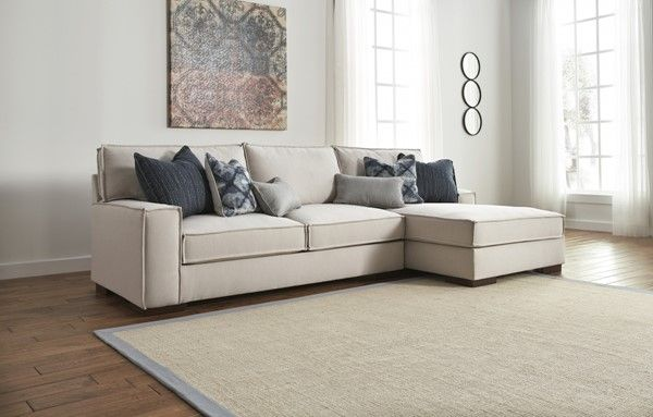 Ashley Furniture Kendleton RAF Chaise Sectional (With ...