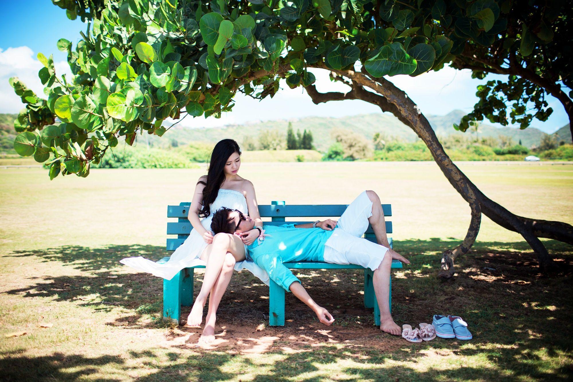East coast wedding, Waimanalo beach wedding, Hawaii wedding ...