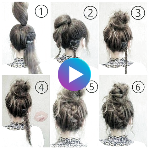 hairstyles for medium length hair for work updo up dos 53