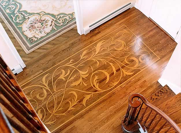 Beautiful Stenciled Floor By Specfin Designs Stenciled