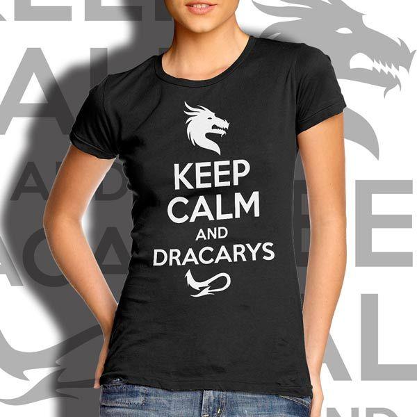 6c7c677bf Camiseta Dracarys - Game of Thrones