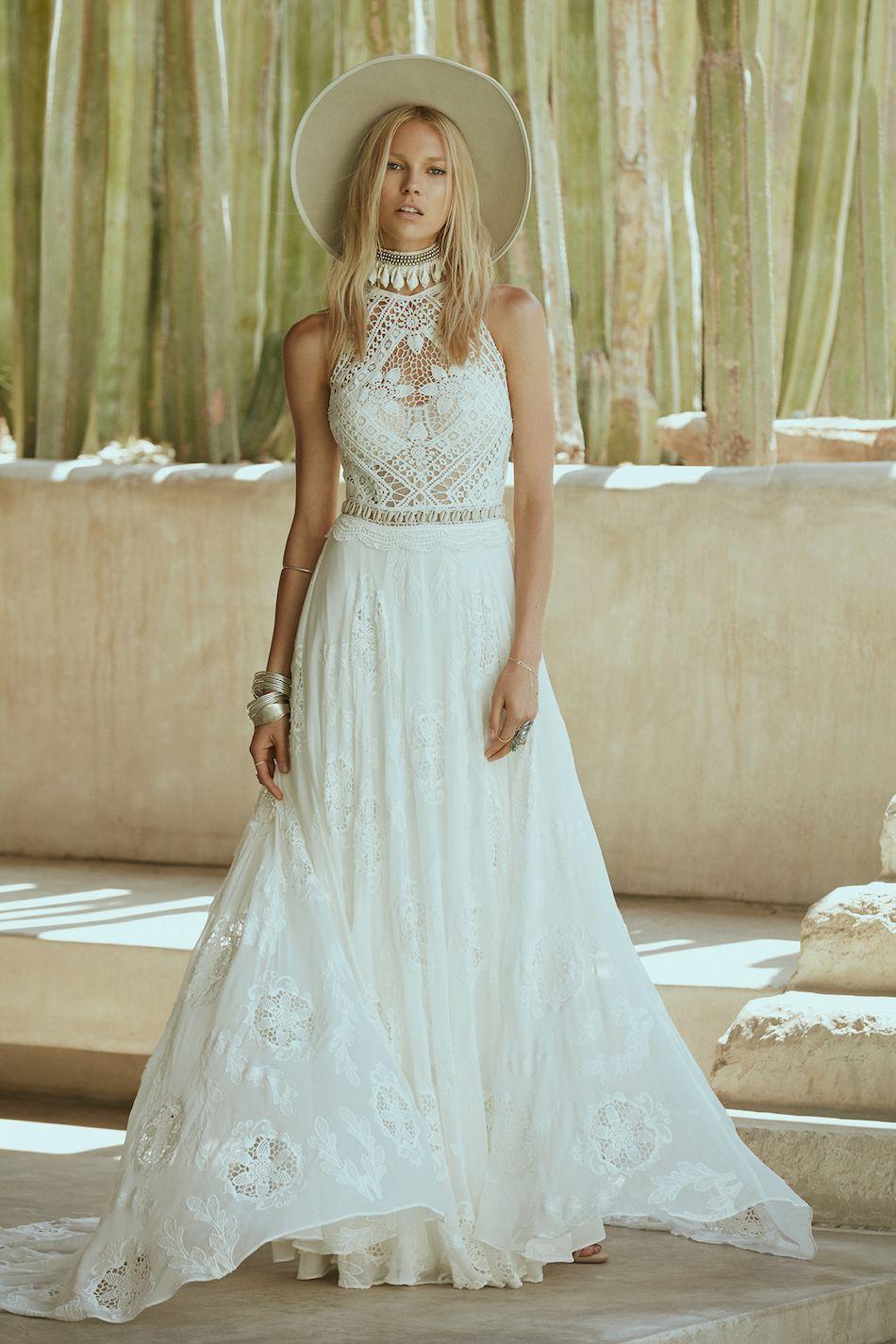 Amazing Vestidos Novia Hippie Chic Contemporary - Wedding Ideas ...