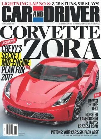 Car And Driver Dishes New Report On The Mid Engine 2017 Corvette Zora Zr1