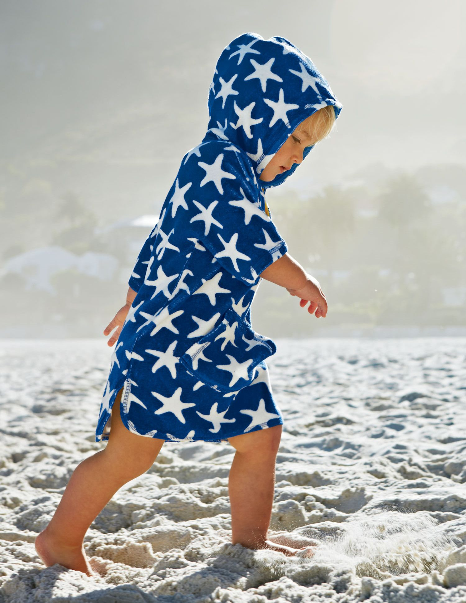 Boden Towelling Poncho Kids Clothes Pinterest