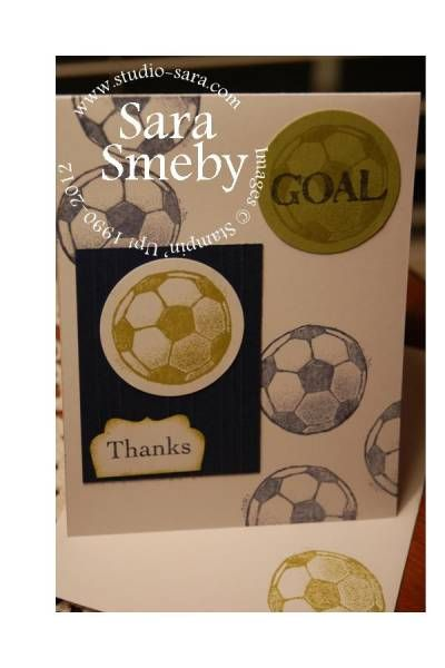 Thank You notes for Soccer Moms