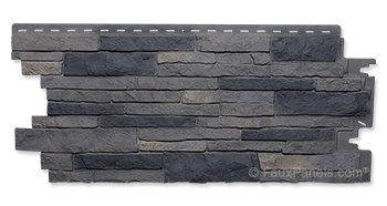 Nailon Stone Wall Plus Lewiston Crest Panel (Worth considering, especially around where a secret external access door would be located)
