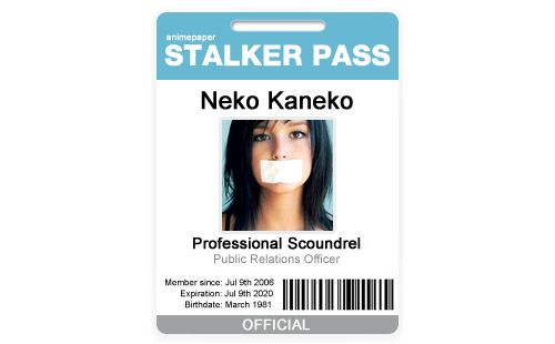 Stalker Pass  Badge Id Card  Free Psd Files