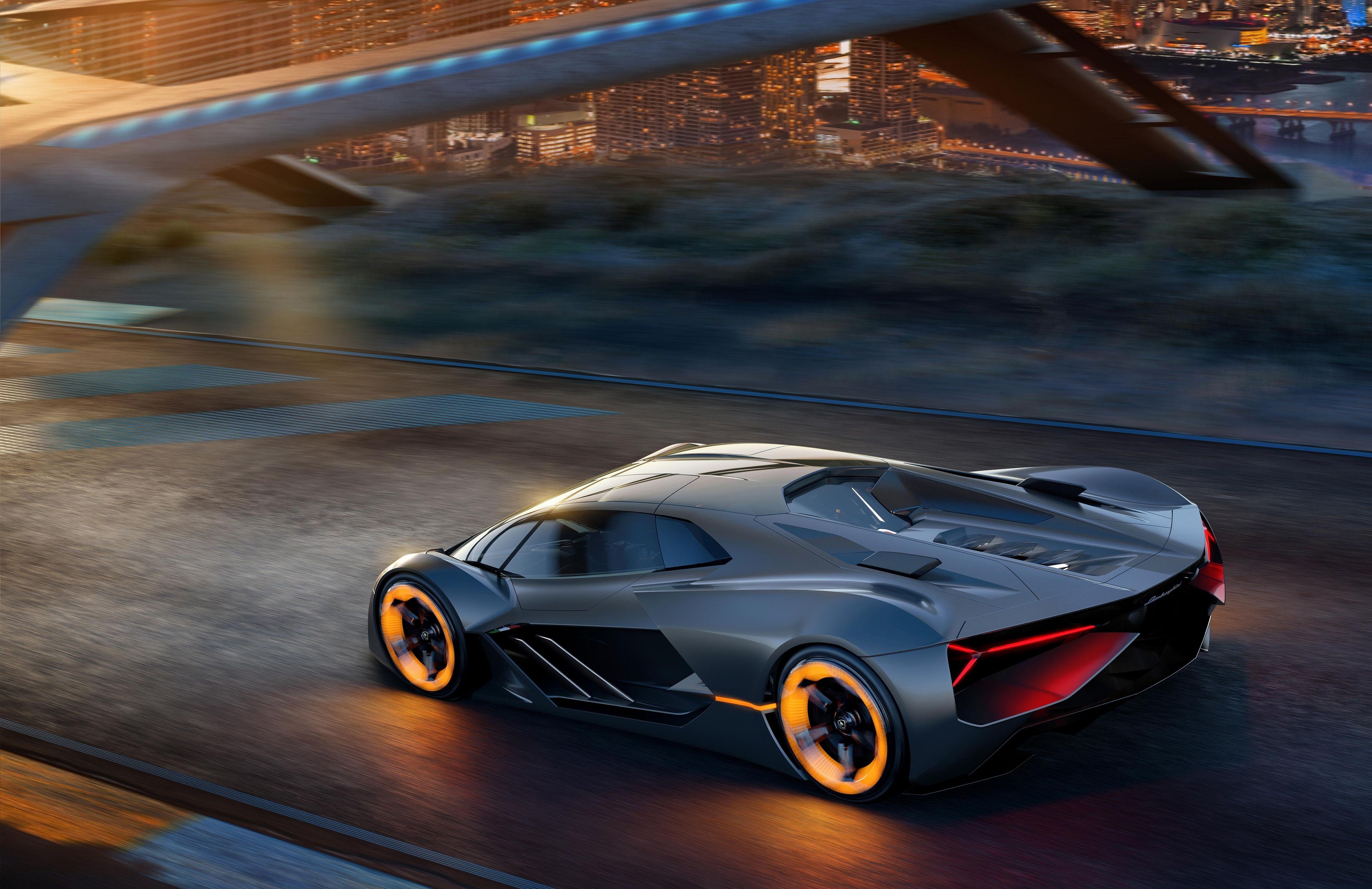 The Lamborghini Terzo Millennio Is A Wild Electric Hypercar For The Future Super Sport Cars All Electric Cars Lamborghini Cars