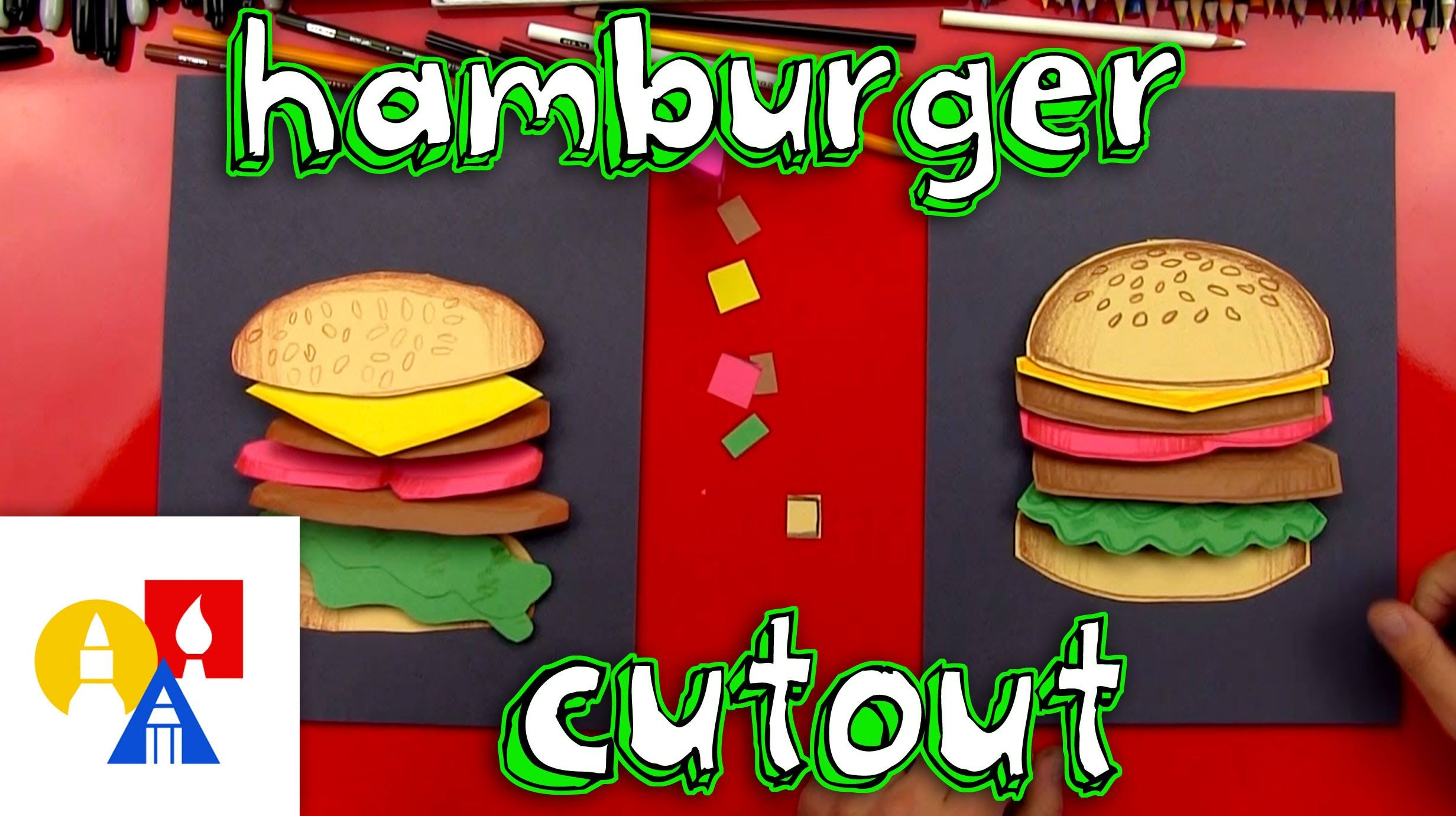Hamburger Cutout